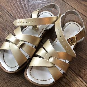 Salt Water sandals, girls size 12